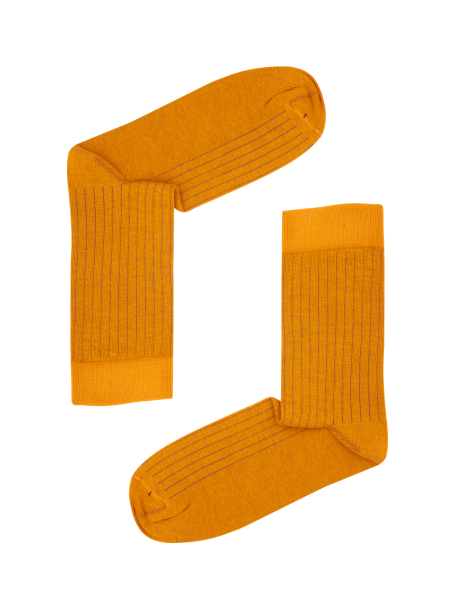 Orange/Braun gerippt