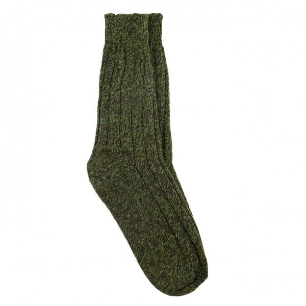 Wolle grün - extra warm!